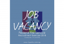 Job Vacancy: Federal Fire Service Recruitment Exercise 2018