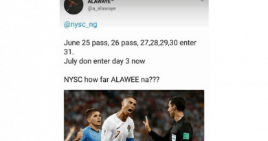 NYSC pitty them now! 😭😭😭